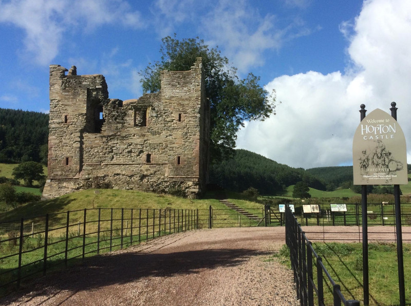 Hopton-Castle